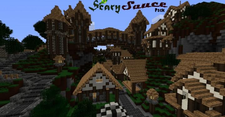 ScarySauce pack [1.10.2] [1.9.4] [1.8.9] (16x)