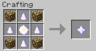 Craftable Nether Star 1.8.9/1.7.10