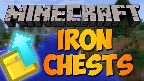 Iron Chests [1.12.2] [1.11.2] [1.10.2] [1.7.10] (железные сундуки)