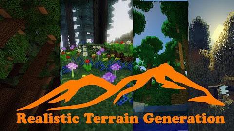 Realistic Terrain Generation [1.10.2] [1.9.4] [1.8.9] [1.7.10]