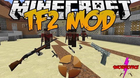 TF2 stuff [1.12.2] [1.11.2] [1.10.2] [1.7.10] (мобы и оружие из Team Fortress 2)