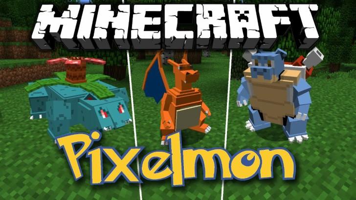Pixelmon 7.0.8 [1.12.2] [1.10.2] [1.8.9] [1.7.10] (покемоны в Майнкрафт)