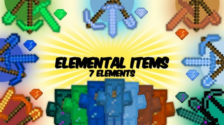 Elemental Items 1.8.9/1.7.10