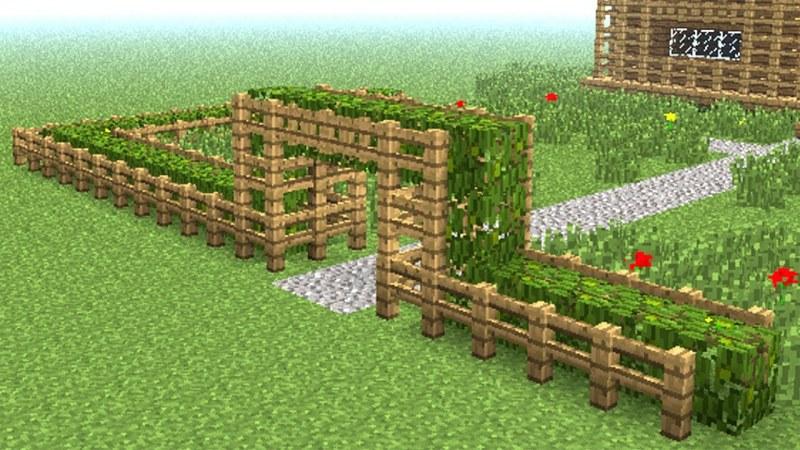 Как сделать каменный забор в майнкрафте 152