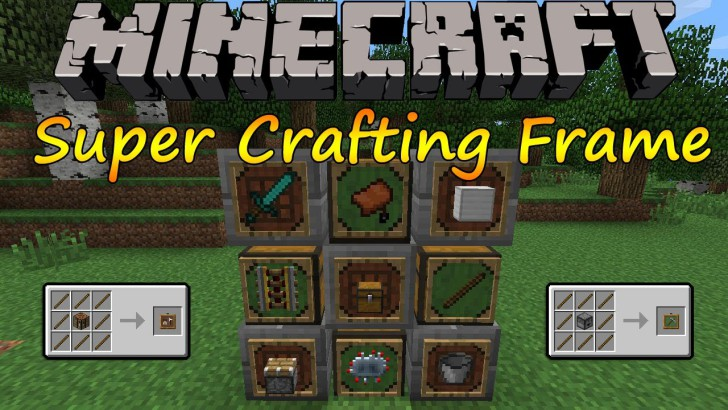Super Crafting Frame [1.11] [1.10.2] [1.9.4] [1.7.10]