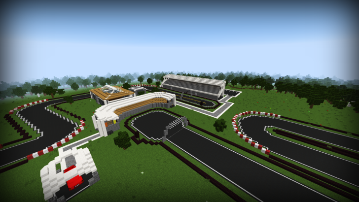 Minecar Racing Map 1.9.2/1.9