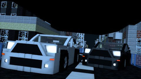 Minecar-Racing-Map