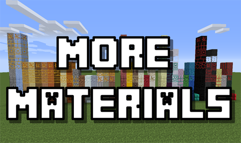 More Materials 1.9/1.8/1.7.10 by localtoast