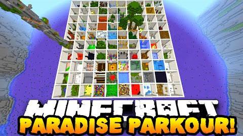 Parkour Paradise 2 Map 1.9.2/1.9