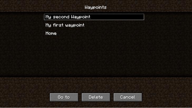 Waypoints Mod [1.10.2] [1.9.4] [1.8.9] [1.7.10]