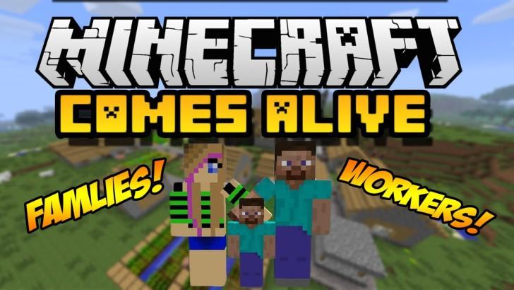 Minecraft Comes Alive [1.12.2] [1.10.2] [1.9.4] [1.7.10]