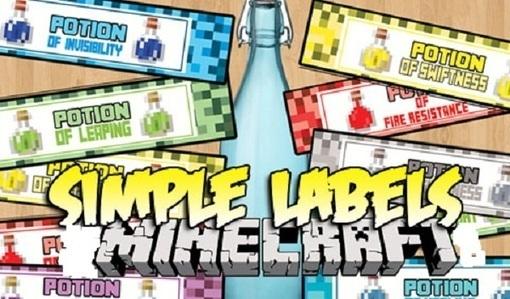 Simple Labels 1.9/1.8.9/1.7.10