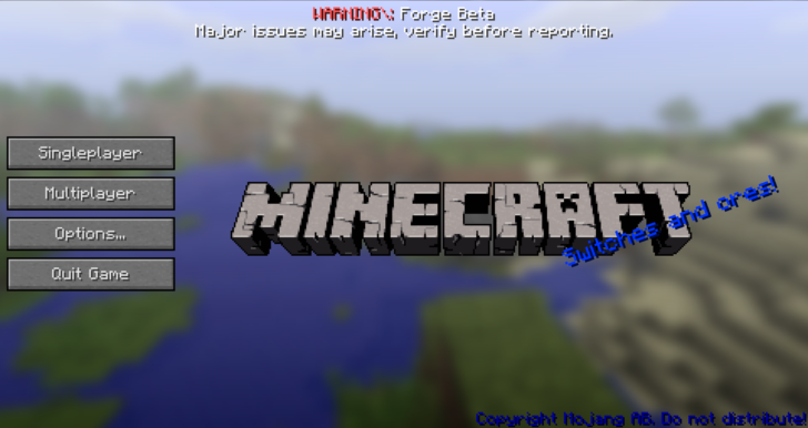 Custom Main Menu [1.12] [1.11.2] [1.10.2] [1.7.10]