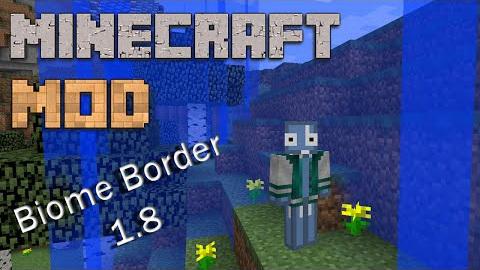 Biome Borders [1.10.2] [1.9.4] [1.8]