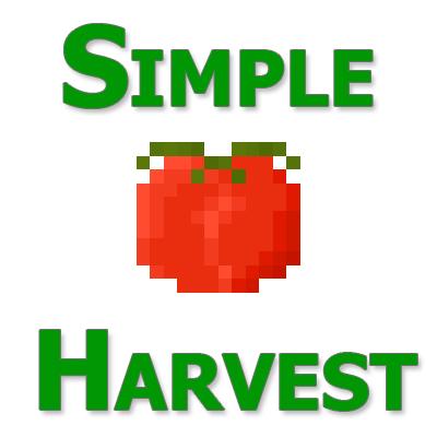 Simple Harvest - быстрый посев семян [1.12.2] [1.11.2] [1.10.2] [1.9.4]