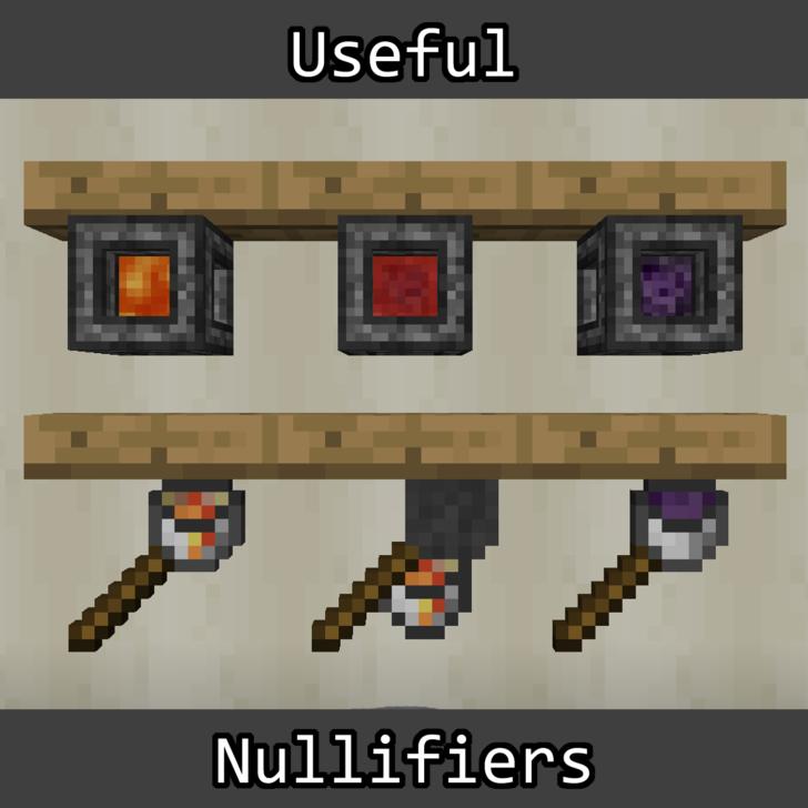 Useful Nullifiers [1.12.2] [1.11.2] [1.10.2] (уничтожитель предметов)