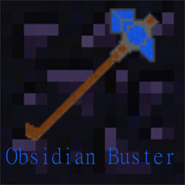 Obsidian Buster [1.7.10]