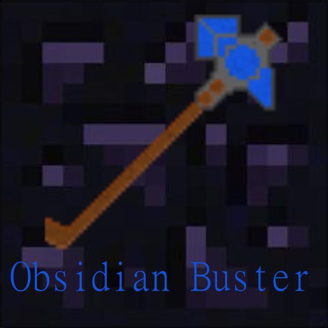 Obsidian Buster [1.7.10]