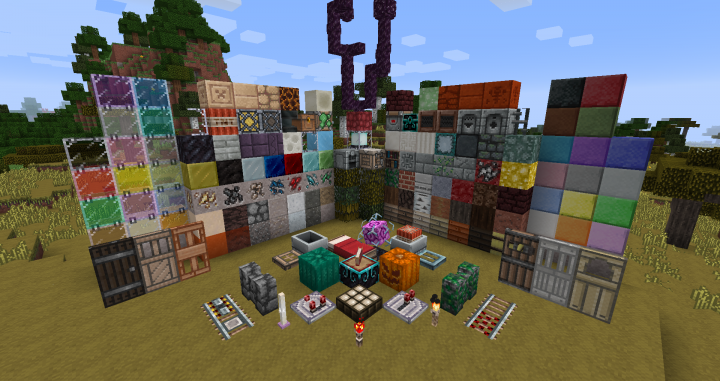 Red's Pack [1.14.4] [1.13.2] [1.12.2 - 1.10.2] (16x)