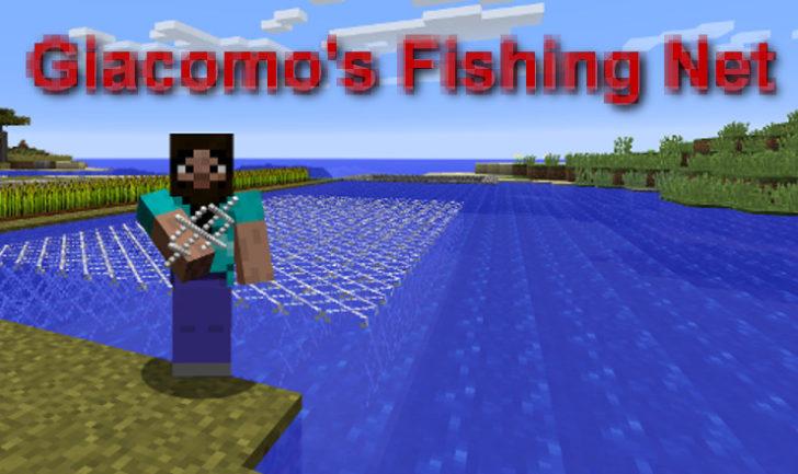 Fishing Net - Рыболовная сеть [1.12.2] [1.11.2] [1.10.2] [1.7.10]