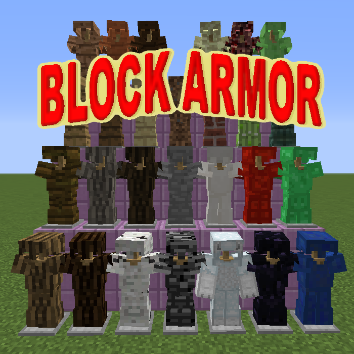 Block Armor [1.12.2] [1.11.2] [1.10.2] [1.7.10]