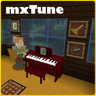 mxTune - музыкальные инструменты [1.12.2] [1.11.2] [1.10.2] [1.9.4]