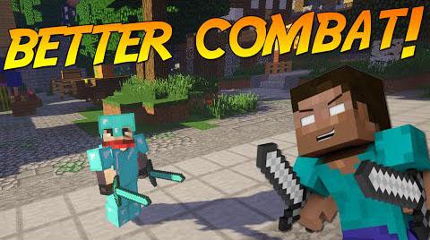 Better Combat - оружие в две руки [1.12.2] [1.11.2] [1.10.2] [1.9.4]