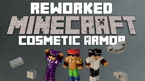 Cosmetic Armor Reworked [1.11.2] [1.10.2] [1.9.4] [1.7.10]