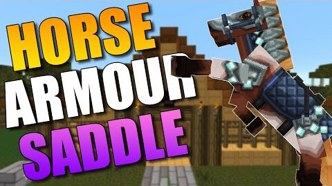 Craftable Horse Armour and Saddle [1.11.2] [1.10.2] [1.9.4] [1.7.10]