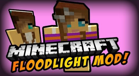 FloodLights [1.10.2] [1.9.4] [1.8.9] [1.7.10]