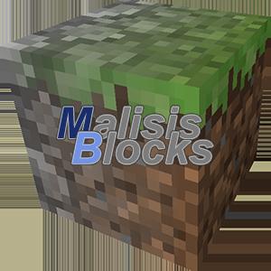 MalisisBlocks - двойные блоки [1.12.2] [1.11.2] [1.10.2] [1.9]