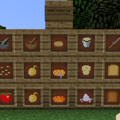 More Foods [1.10.2] [1.9.4] [1.8.9]