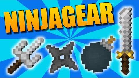 NinjaGear - экипировка ниндзя [1.11.2] [1.10.2] [1.9.4]