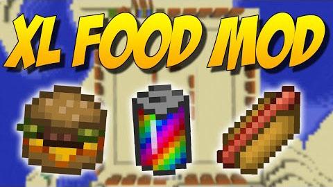 XL Food - новые виды еды [1.12.2] [1.10.2] [1.9.4] [1.8.9]