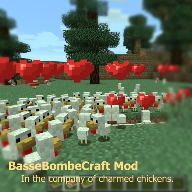 BasseBombeCraft - новые чары и эффекты [1.12.2] [1.11.2] [1.8.9]