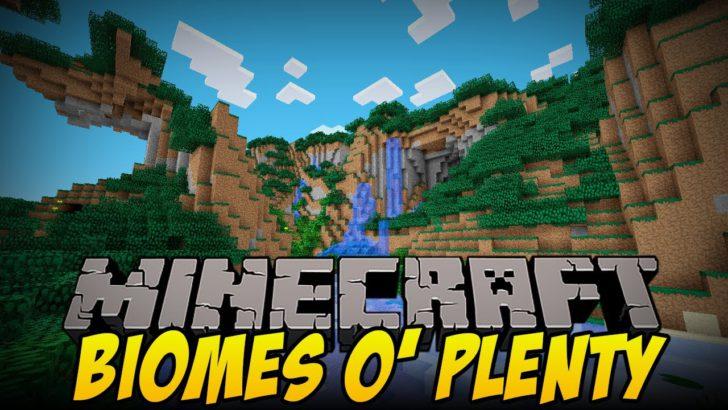 Biomes O' Plenty [1.12.2] [1.11.2] [1.10.2] [1.9.4]