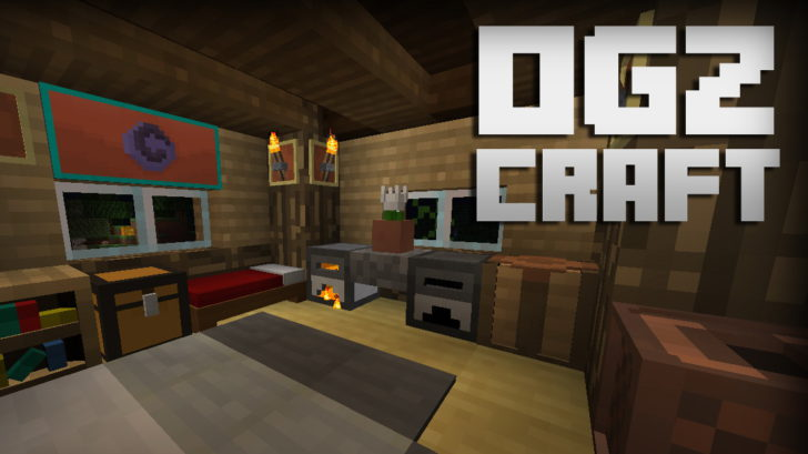OGZCraft [1.12.2] [1.11.2] [1.10.2] [1.8.9] (16x)