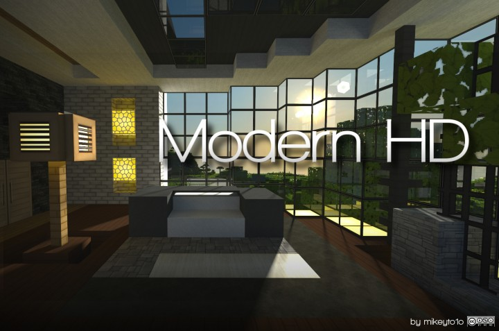 Modern HD Pack [1.13.2] [1.12.2] [1.11.2] (64x)