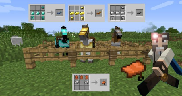 Craftable Horse Armour and Saddle [1.12.2] [1.11.2] [1.10.2] [1.7.10]