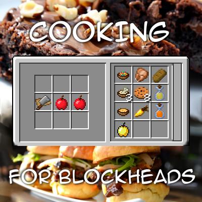 Cooking for Blockheads [1.14.4] [1.12.2] [1.11.2] [1.10.2] (поваренная книга)