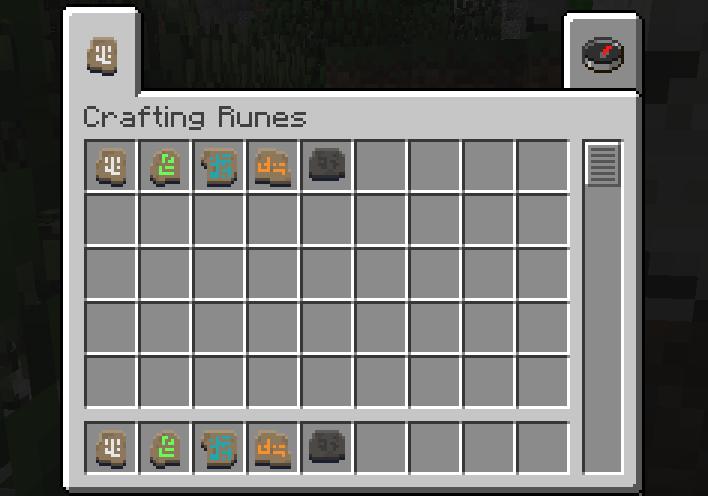 Crafting Runes [1.10.2]