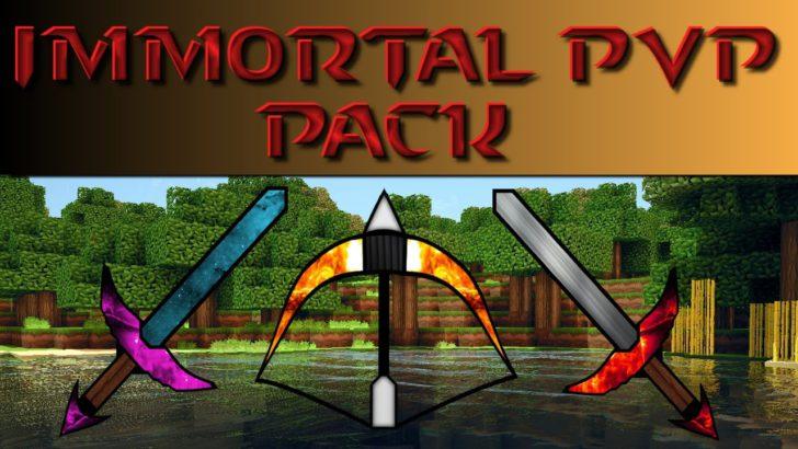Immortal PvP Pack [1.13.2] [1.12.2] [1.11.2] [1.8.9] (16x)