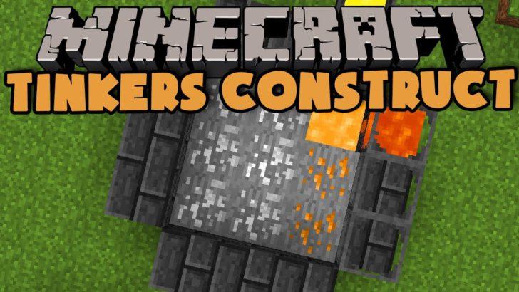 Tinkers Construct [1.12.2] [1.11.2] [1.10.2] [1.9.4] (уникальные инструменты и оружие)