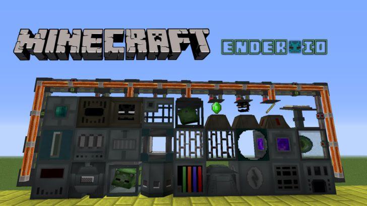 Ender IO [1.12.2] [1.10.2] [1.9.4] [1.8.9] [1.7.10] (эндер технологии)