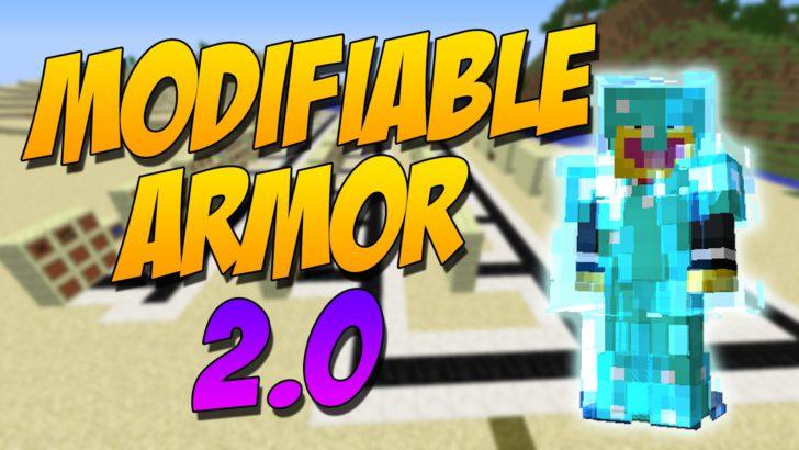 Modifiable Armor 2.0 [1.10.2] [1.9.4]