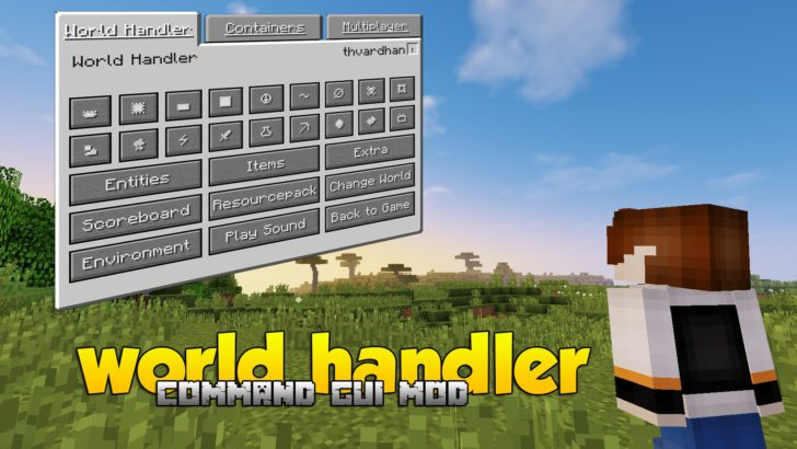 World Handler [1.11.2] [1.10.2] [1.9.4] [1.7.10]