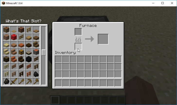 What's That Slot? [1.12.2] [1.11.2] [1.10.2]