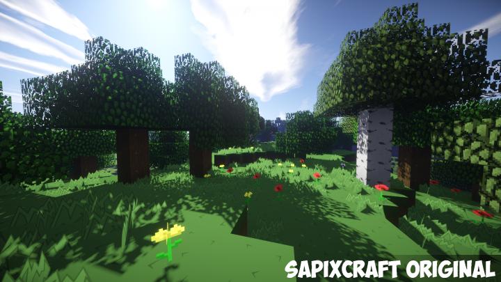 SapixCraft Original [1.13] [1.12.2] [1.11.2] [1.10.2] [1.7.10] (512x - 16x)
