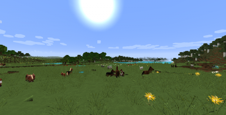 The Galaxy Pack [1.14.4] [1.13.2] [1.12.2 - 1.10.2] (64x)
