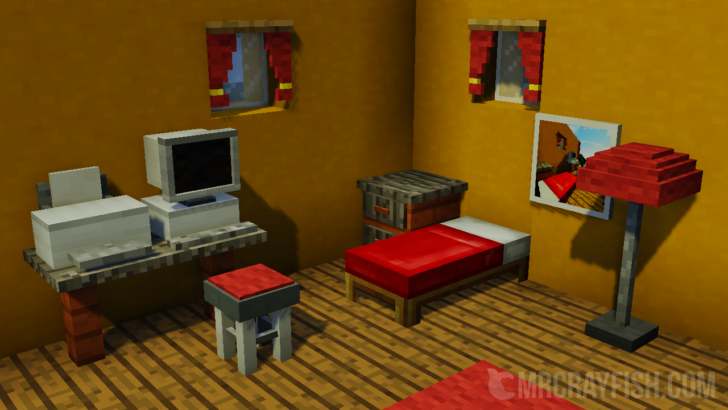 Furniture mod - мод на мебель и фурнитуру [1.12.2] [1.11.2] [1.10.2] [1.7.10]